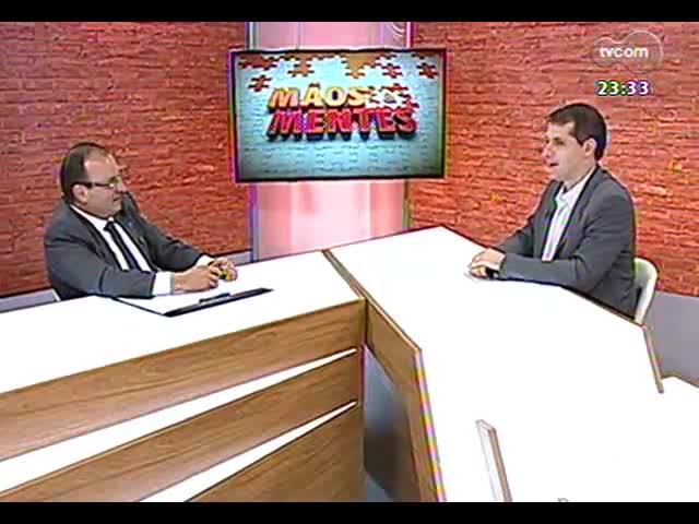Mãos e Mentes - Diretor superintendente da Fundação Estadual de Planejamento Metropolitano e Regional (Metroplan), Oscar Escher - Bloco 3 - 15/09/2013