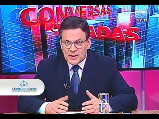Conversas Cruzadas - O favoritismo de Dilma para as eleições de 2014 apontado pelo Ibope e as repercussões dos fatos da semana nesse cenário - Bloco 4 - 25/10/2013