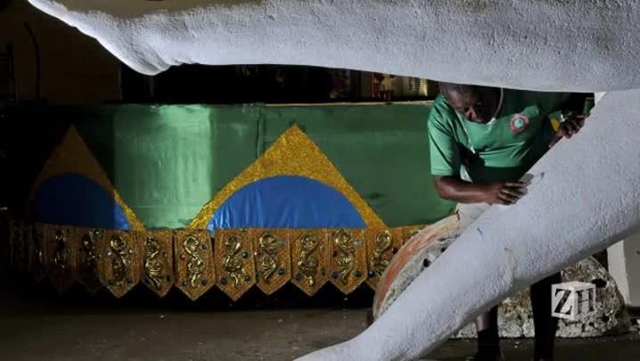 Samba-enredo da Estado Maior da Restinga
