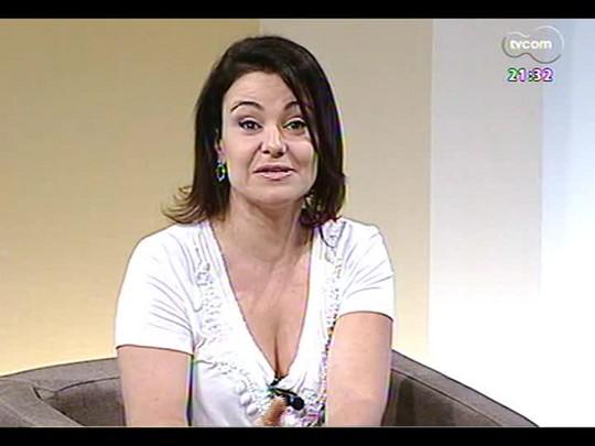 TVCOM Tudo Mais - \'Barra de Cereal\': Aline Mendes fala sobre o treinamento funcional