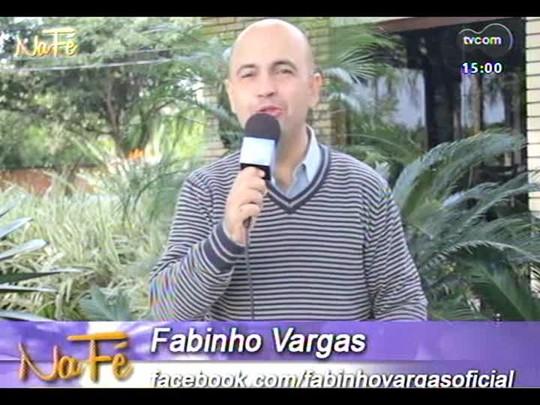 Na Fé - Clipes de música gospel e bate-papo com a dupla Lucas e Gustavo - 11/05/2014 - bloco 1