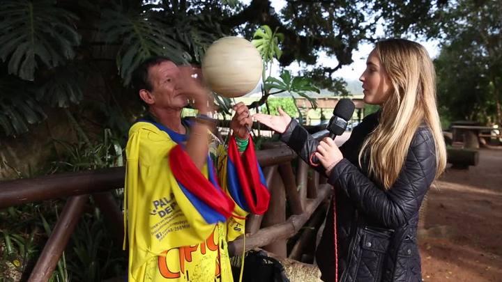 #LaCopa: Manoel, o torcedor caroneiro do Equador