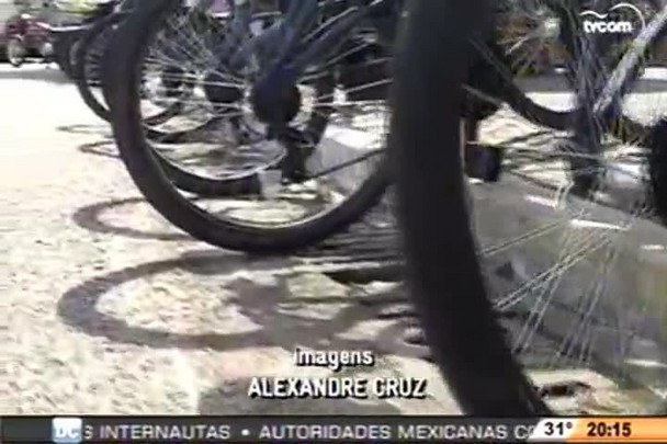 TVCOM 20h - Série de roubos de bicicletas preocupa moradores na Capital - 14.1.15