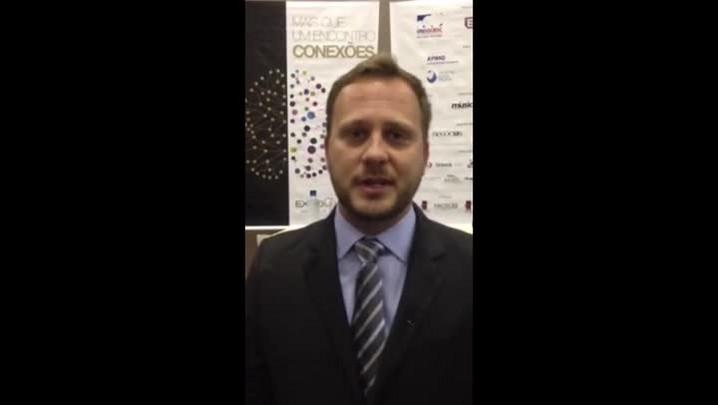 Vídeo de Adriano Silva, comentando sobre a ExpoGestão