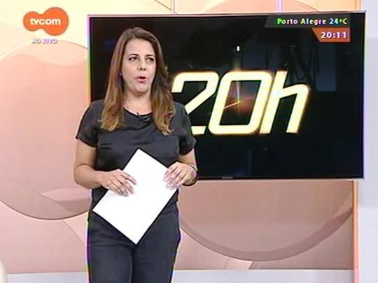 TVCOM 20 Horas - Protesto congestiona trânsito na avenida Protásio Alves - 18/03/2015