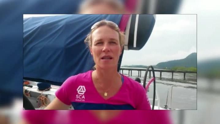 Velejadora do Team SCA fala sobre a expectativa para próxima etapa da Volvo Ocean Race