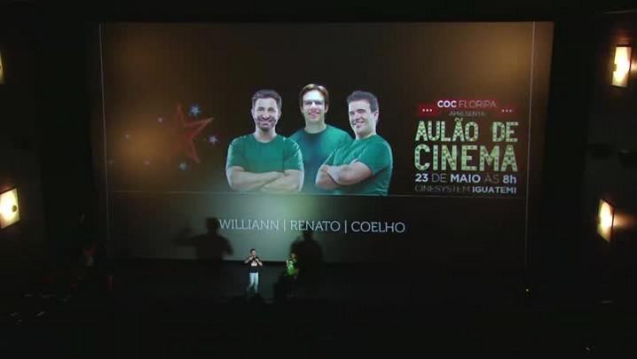 Aulão de Cinema DC e COC Floripa