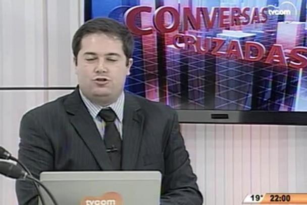 Conversas Cruzadas - Aumento da carga tributária - 1º Bloco - 29.05.15