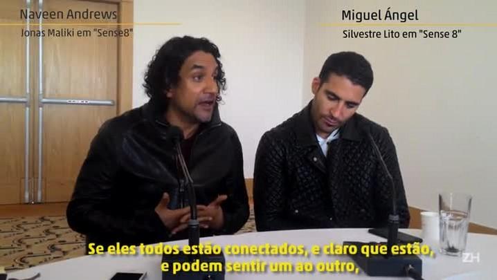 """Ator que fez Sayid, em \""""Lost\"""", fala sobre sua nova série, \""""Sense 8\"""""""