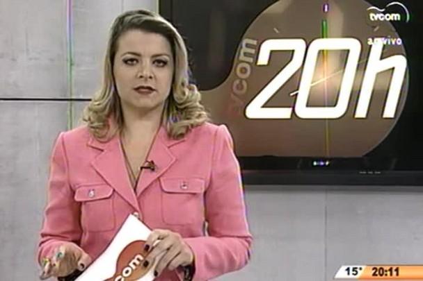 TVCOM 20 Horas - Menores apreendidos em Itajaí são encaminhados pra Central de Plantão Policial - 19.06.15