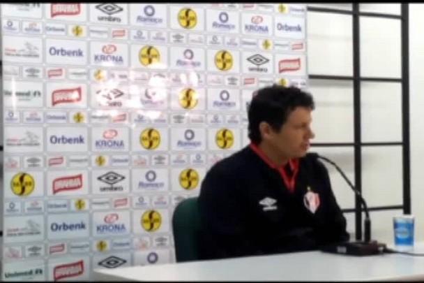 Adilson Batista avalia atuação do JEC contra o Coritiba