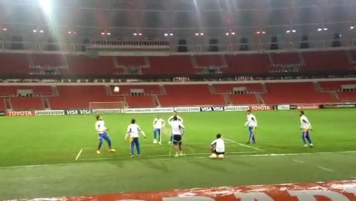 Tigres faz treino de reconhecimento no Beira-Rio