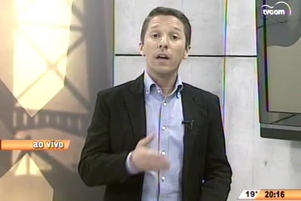 TVCOM 20 Horas - PRF faz alterações na BR-101 por conta da inauguração do túnel do Morro do Formigão, em Tubarão, e da ponte Anita Garibaldi, em Laguna- 14.07.15