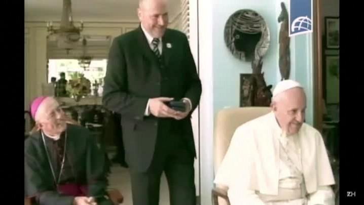 Papa Francisco visita Fidel Castro em Havana