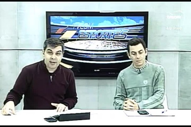 TVCOM Esportes. 3º Bloco. 23.06.16