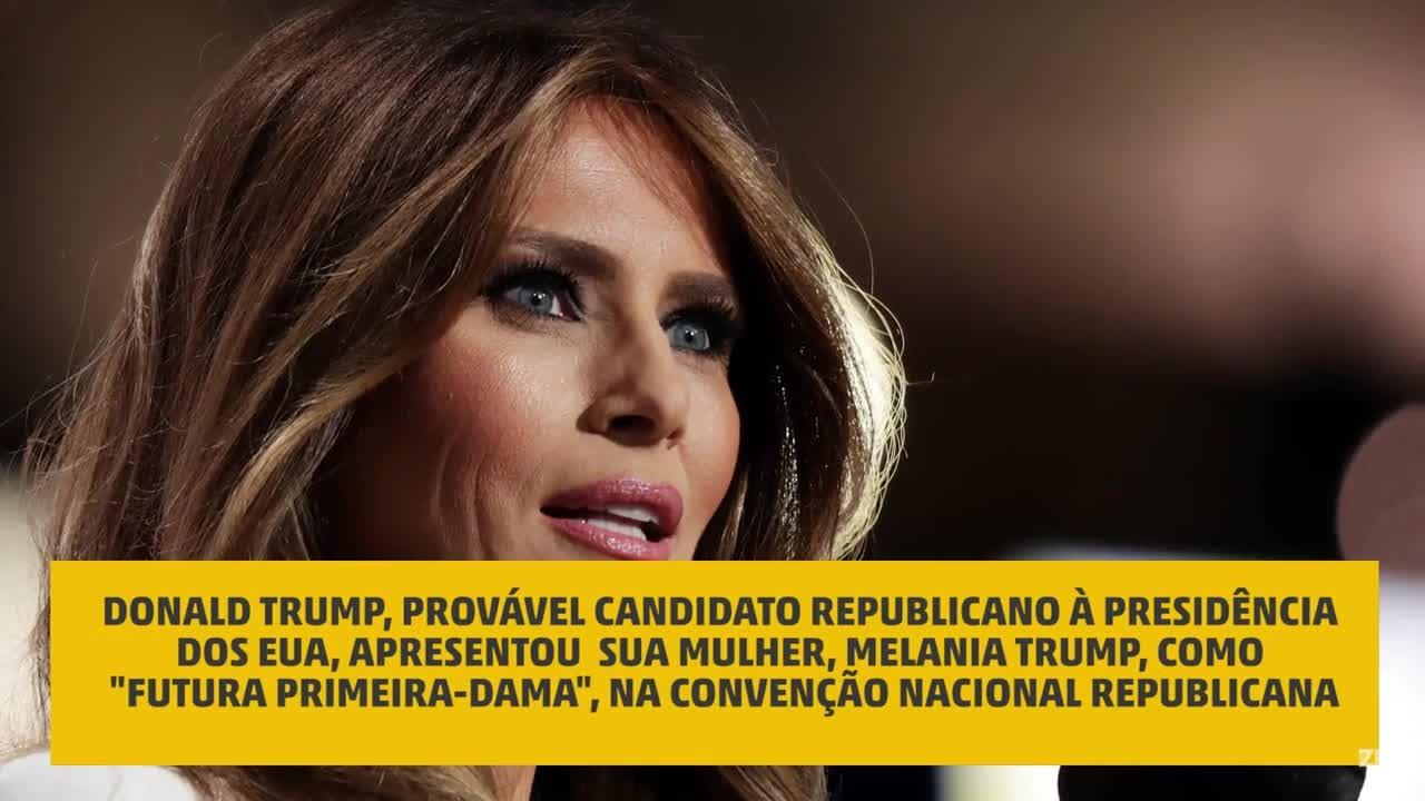 Plágio? Compare os discursos de Melania Trump e Michelle Obama