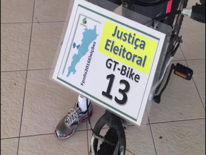 Projeto GT-Bike reúne ciclistas para recolher votos em Florianópolis