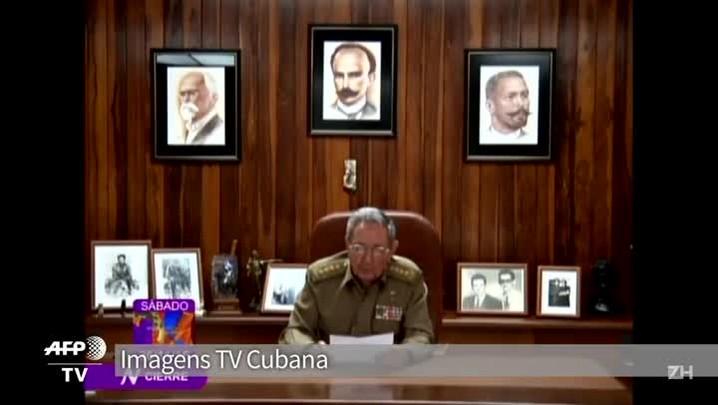 Raúl: restos do 'companheiro Fidel' serão cremados