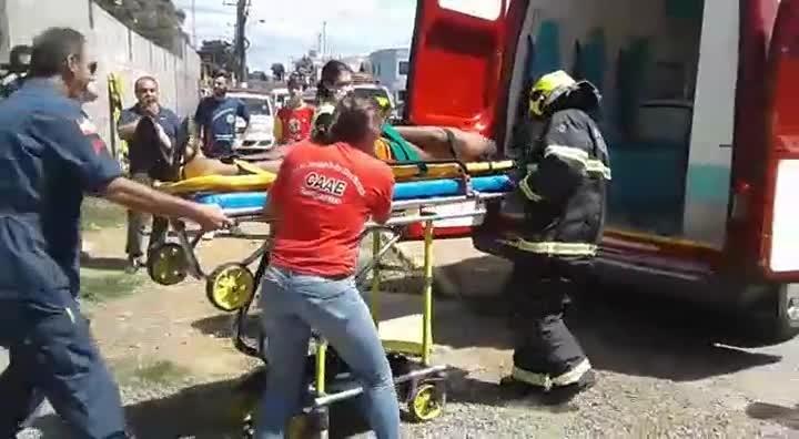 Resgate de um preso ferido no Presídio Masculino de Lages
