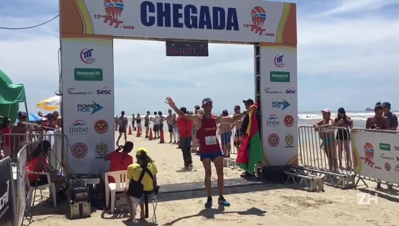 Rodrigo Cardoso vence a Travessia Torres Tramandaí