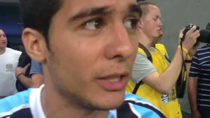 Bertoglio lamenta ausência no primeiro jogo da Arena