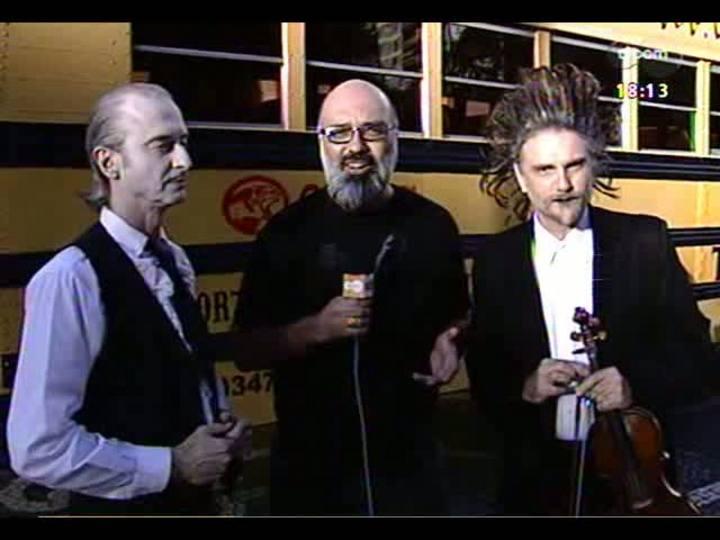Programa do Roger - Lerina entrevista a dupla de Tangos e Tragédias