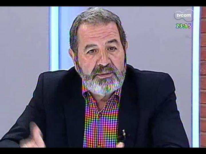 Mãos e Mentes - Presidente da ONG Que no se repita, José Iglesias - Bloco 2 - 03/03/2013