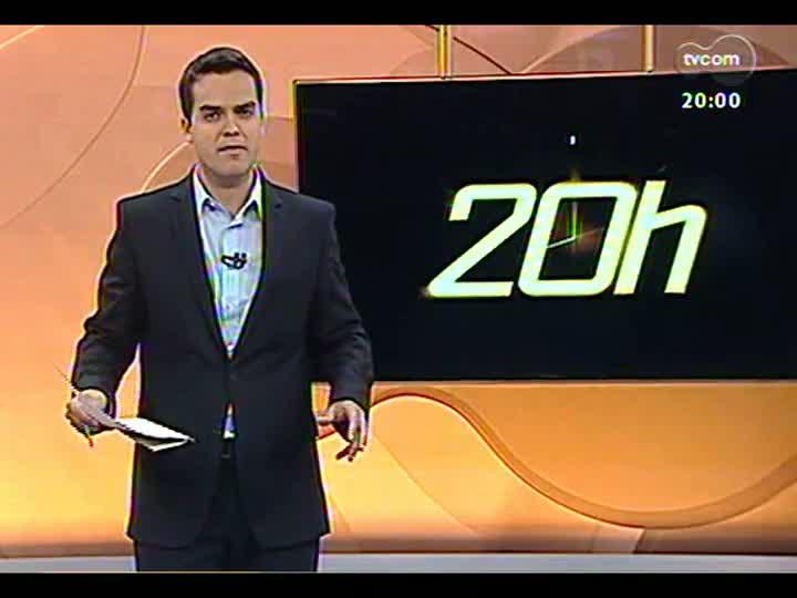 TVCOM 20 Horas - Reflexos econômicos para o RS com o novo governo se formando na Venezuela - Bloco 1 - 08/03/2013