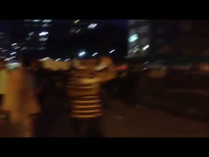 Manifestantes protestam contra aumento das passagens em Porto Alegre. 27/03/2013