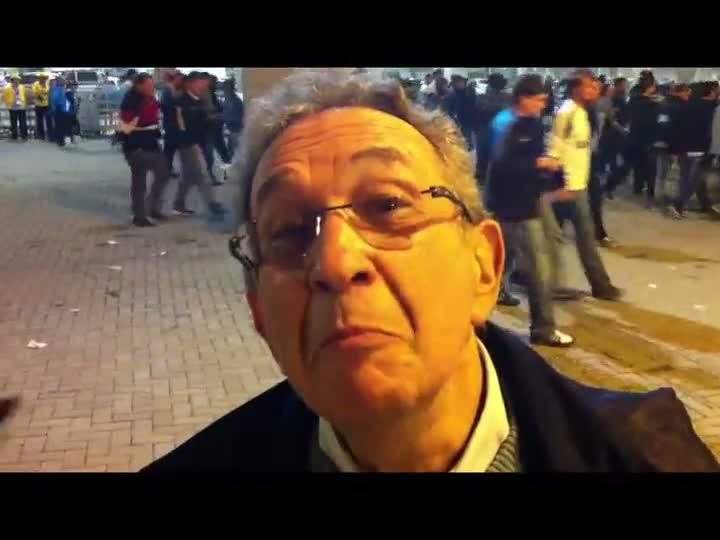 Torcedores comentam vitória gremista - 05/06/2013