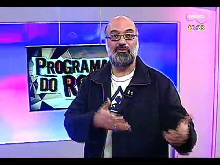 Programa do Roger - Ator italiano Franco Nero fala sobre atuar no Brasil - bloco 4 - 14/06/2013