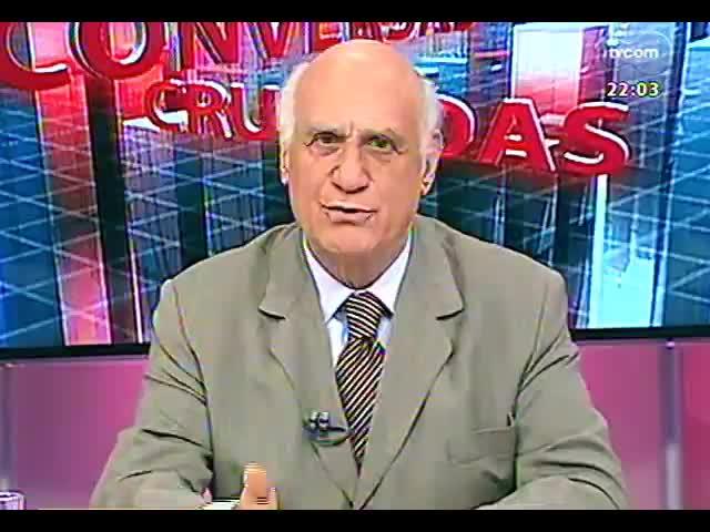 Conversas Cruzadas - Debate sobre o os momentos decisivos do julgamento do mensalão - Bloco 1 - 12/09/2013