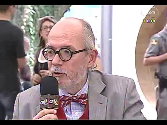 Café TVCOM - Bate-papo com a convidada especial Claudia Tajes direto da 59ª Feira do Livro - Bloco 3 - 02/11/2013