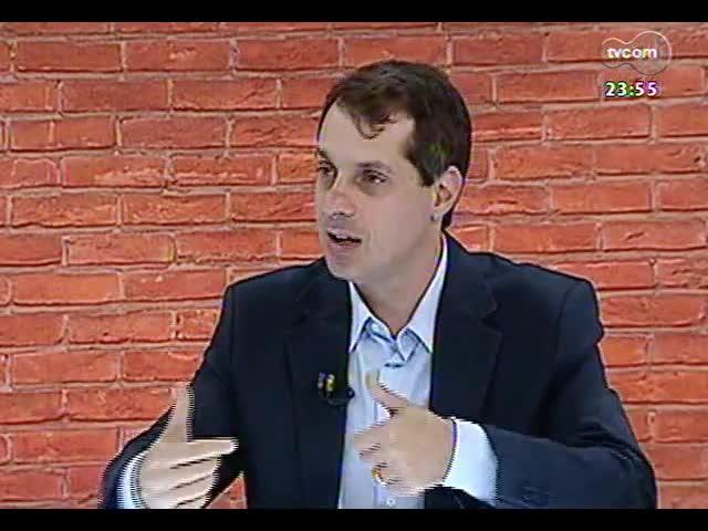 Mãos e Mentes - Médico e diretor da Amrigs, Jorge Telles - Bloco 3 - 14/11/2013