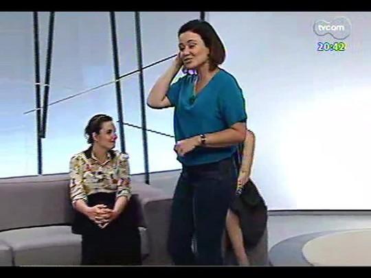 TVCOM Tudo mais - Fernanda Pandolfi fala sobre o show da Ivete em Montevidéu e equipe do Donna fala de Workshop