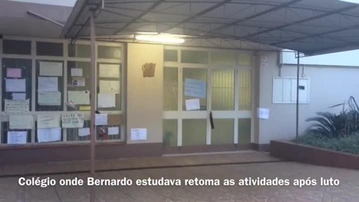 Estudantes da escola de Bernardo retornam às aulas nesta terça-feira - 22/04/2014