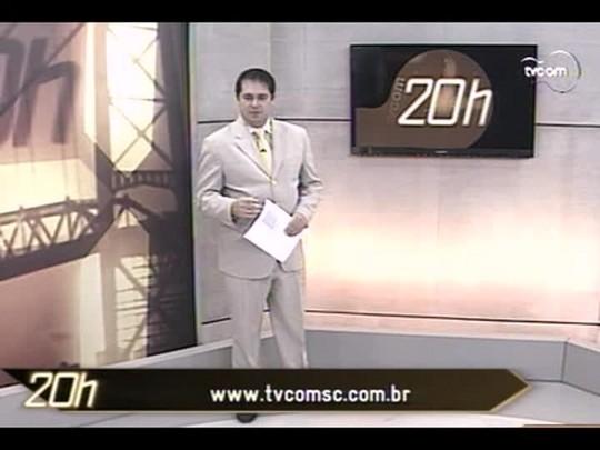 TVCOM 20 Horas - A situação das estradas de Santa Catarina depois da chuva histórica do final da semana - 30/06/14