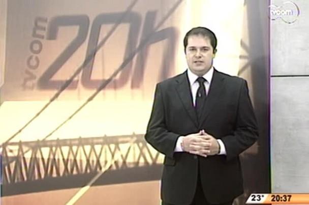 TVCOM 20 Horas - Agenda dos candidatos ao Governo - 3º Bloco - 11/08/14