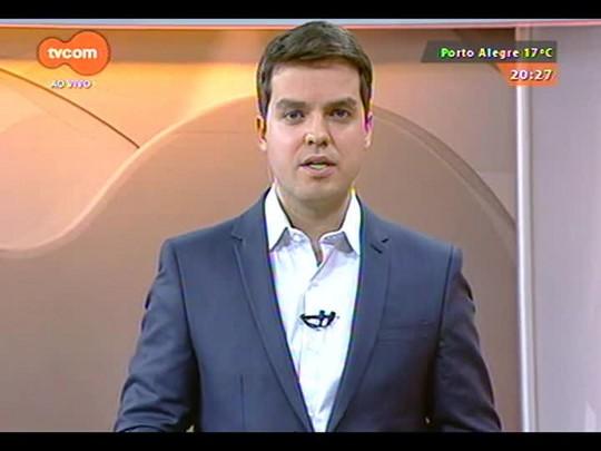 TVCOM 20 Horas - As buscas ao veleiro argentino desaparecido no litoral sul do estado - Bloco 3 - 03/09/2014