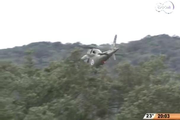 TVCOM 20 Horas - Bandidos são pegos no mangue após ataque a base da PM - 1º Bloco - 29/09/14