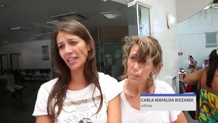 A fisioterapeuta Carla Mafalda Rizzardi foi a primeira vítima do acidente em Alfredo Wagner a receber alta no Hospital Regional de São José.