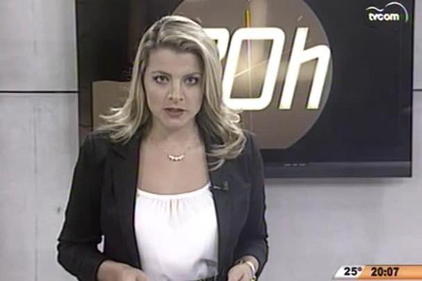 TVCOM 20 Horas - Greve dos servidores da Prefeitura de São José chega ao fim - 14.04.15