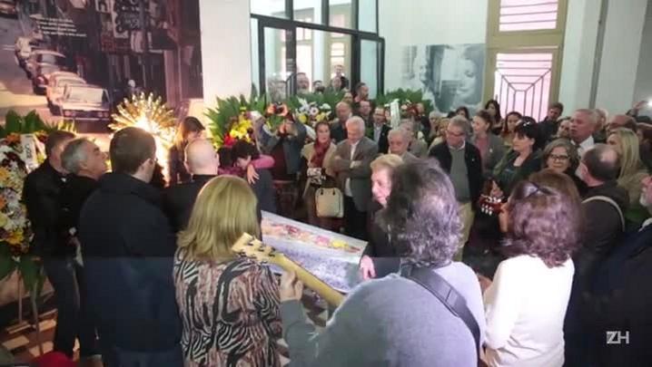 Com apresentação do Canto Livre, Sergio Napp é velado na Casa de Cultura Mario Quintana