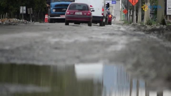 Obras no acesso a Porto Belo provocam transtornos aos usuários