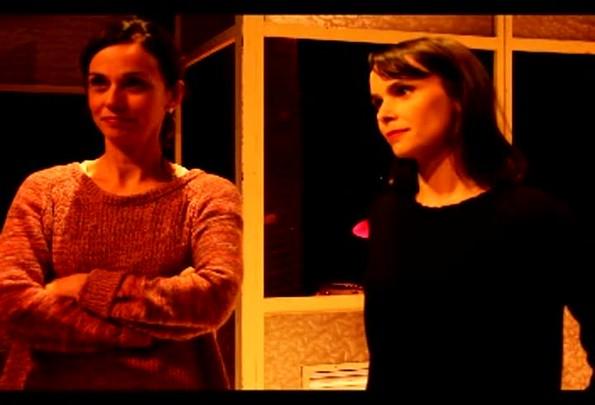 Débora Falabella e Yara de Moraes em entrevista à Rádio Gaúcha