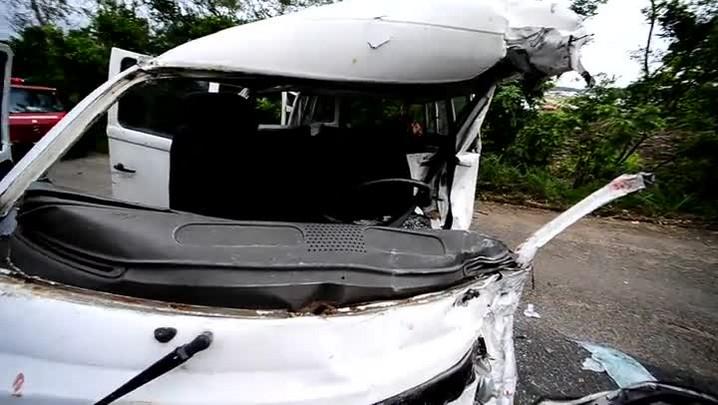 Morte de criança em acidente