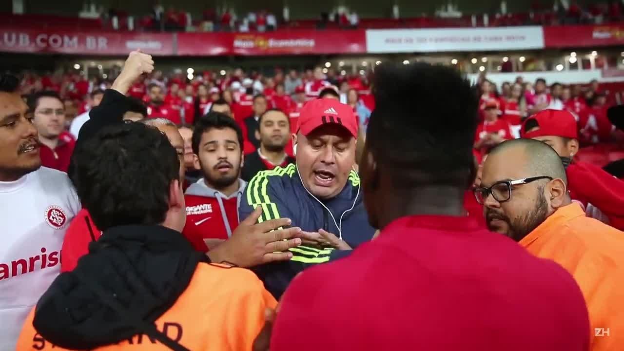 Paulão discute com torcedor após empate