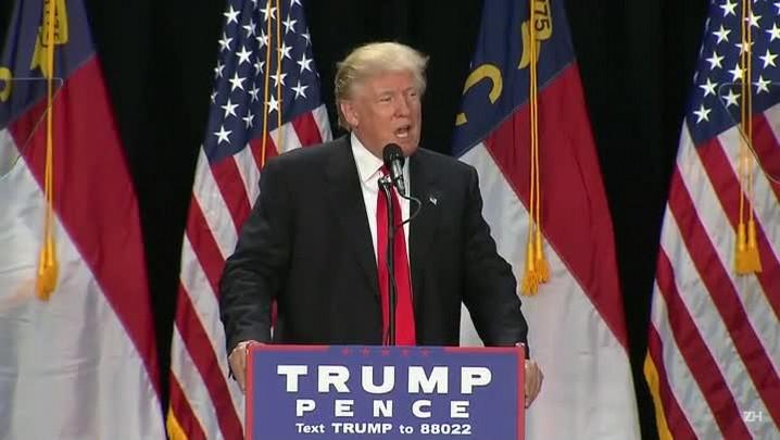 Trump se diz arrependido por declarações ofensivas