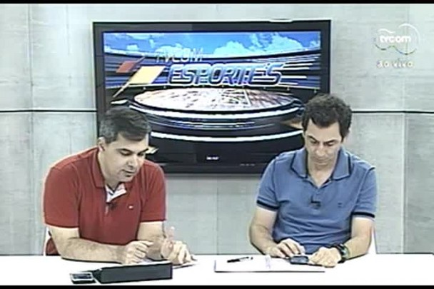 TVCOM Esportes. 3º Bloco. 22.09.16