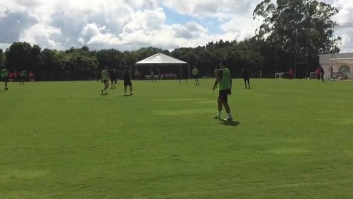 Inter treina em Viamão